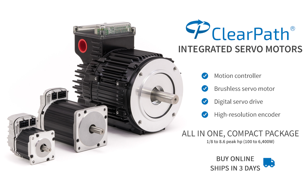 Clearpath teknic for Bldc motor with encoder