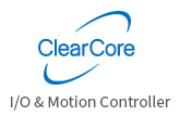 ClearCore motion and I/O controller
