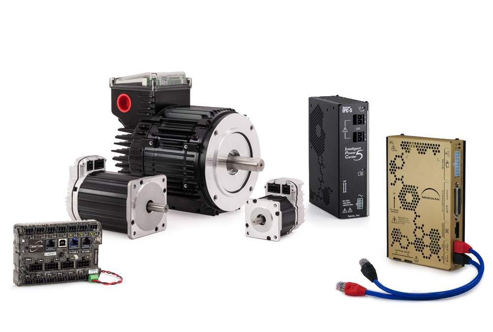 Teknic servo systems - Motors, drives, controllers, power supplies, and integrated servos