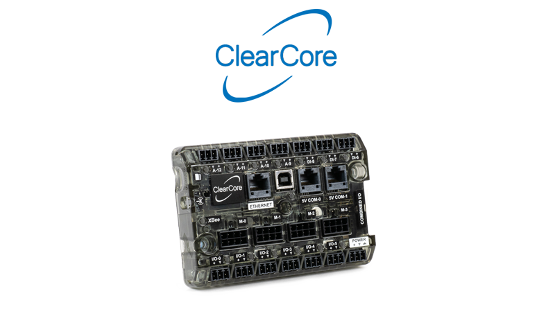 ClearCore microcontroller