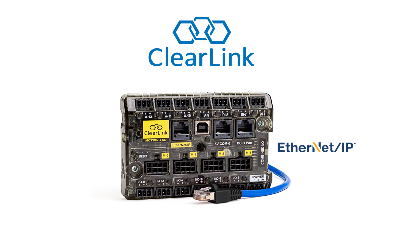 ClearLink Ethernet/IP microcontroller