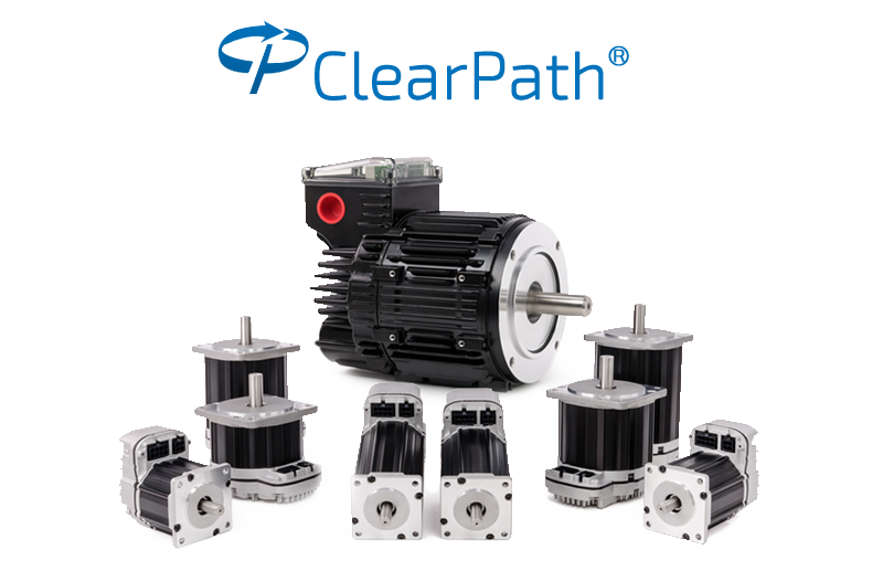 ClearPath All-In-One BLDC servo: integrated servo; drive, brushless motor, and motion controller