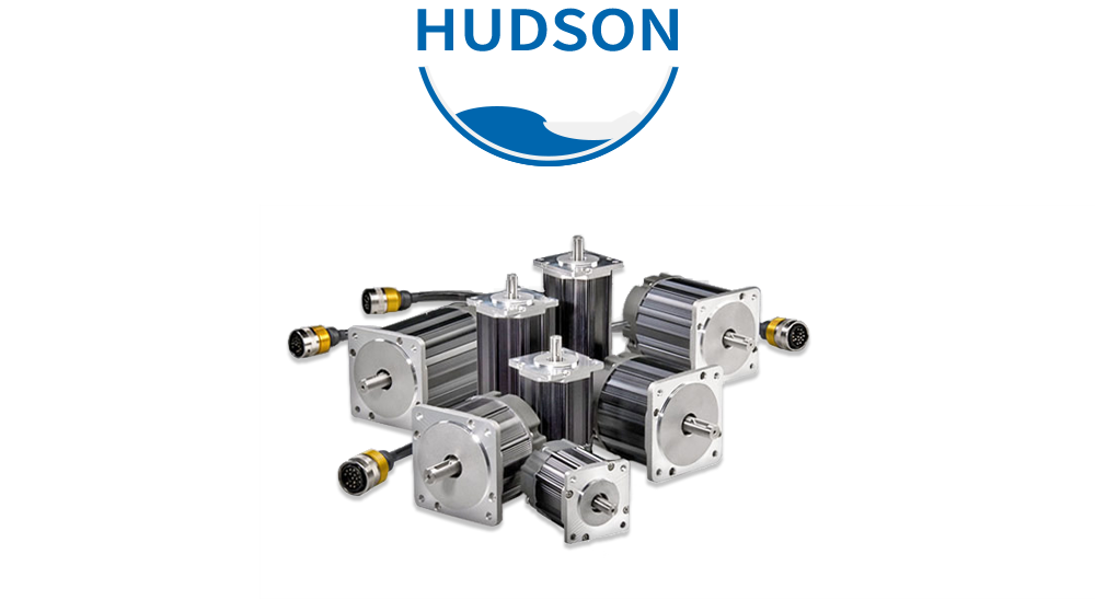 Entire Hudson brushless servo motor family; USA designed and built for OEMs, high performance, low cost