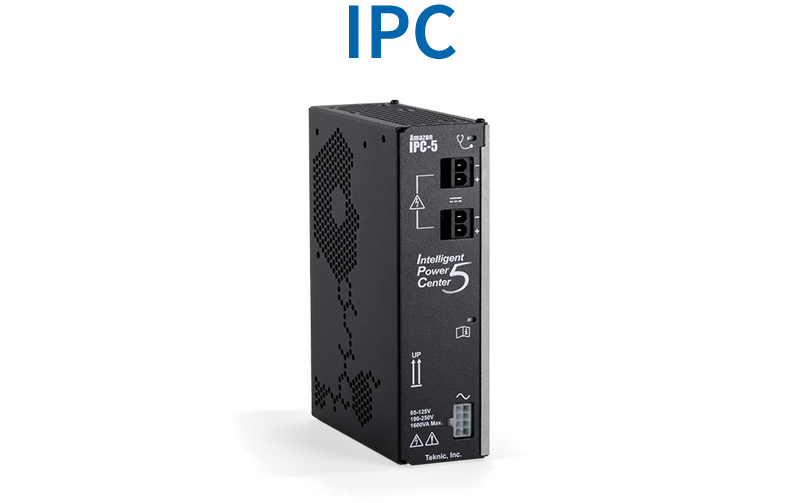 IPC (Intelligent Power Center) for servo and stepper motor drives