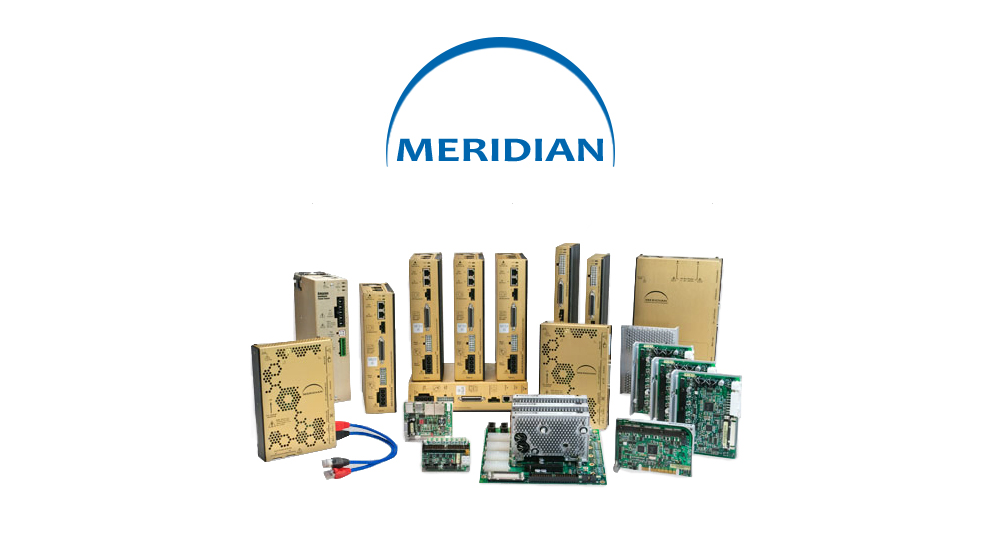 Entire Meridian family � combined motion controller and drive; motion smoothing and vibration suppression