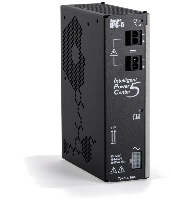 IPC power supply for servo and stepper motor drives; superior to switchers,  lighter and smaller than bulk linear supplies