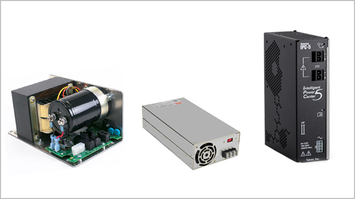 Three types of power supplies