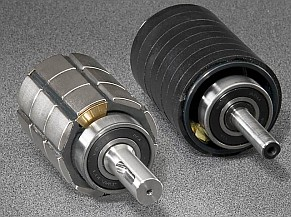 ClearPath uses rare-earth permanent NdFeB magnets (left); provides about 4 times the power of same sized AC induction motors