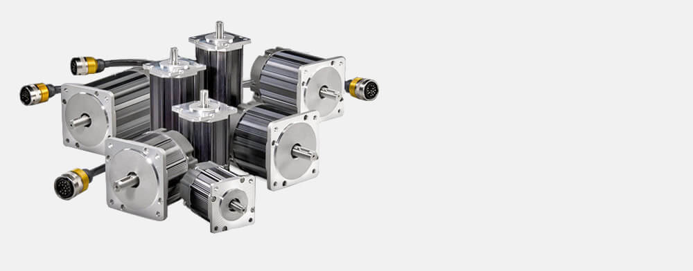 Hudson brushless servo motor family; USA designed & built for OEMs, high performance, low cost