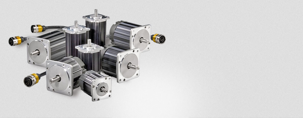 Entire Hudson brushless servo motor family; USA designed & built for OEMs, high performance, low cost