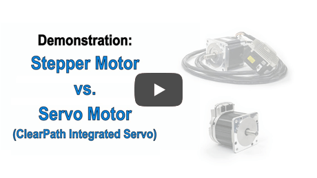 Learn the differences between servo motors and stepper motors when it comes to power, price, and performance.
